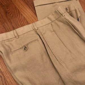 Polo Men's Ralph Lauren 100% Linen Pants 36x34